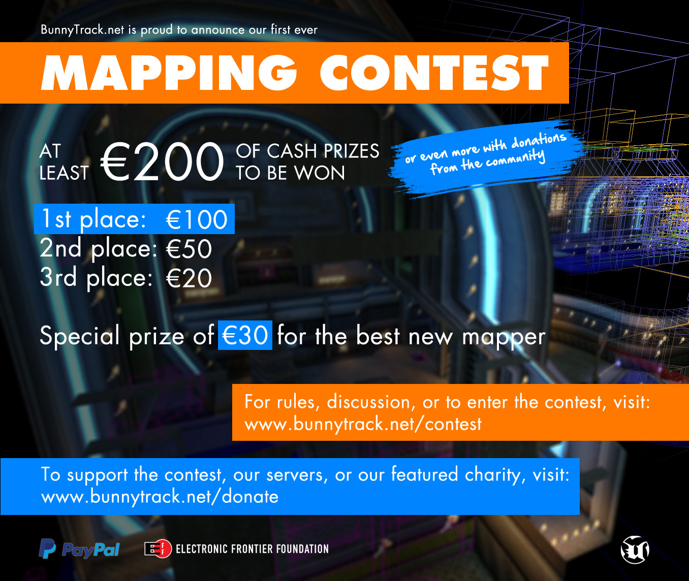 Mapping contest details
